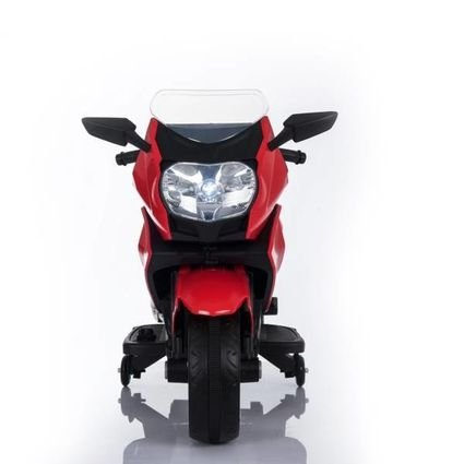 Электромотоцикл BMW K1200GT 12V - XMX-316 красный (колеса резина, кресло кожа, музыка, ручка газа)