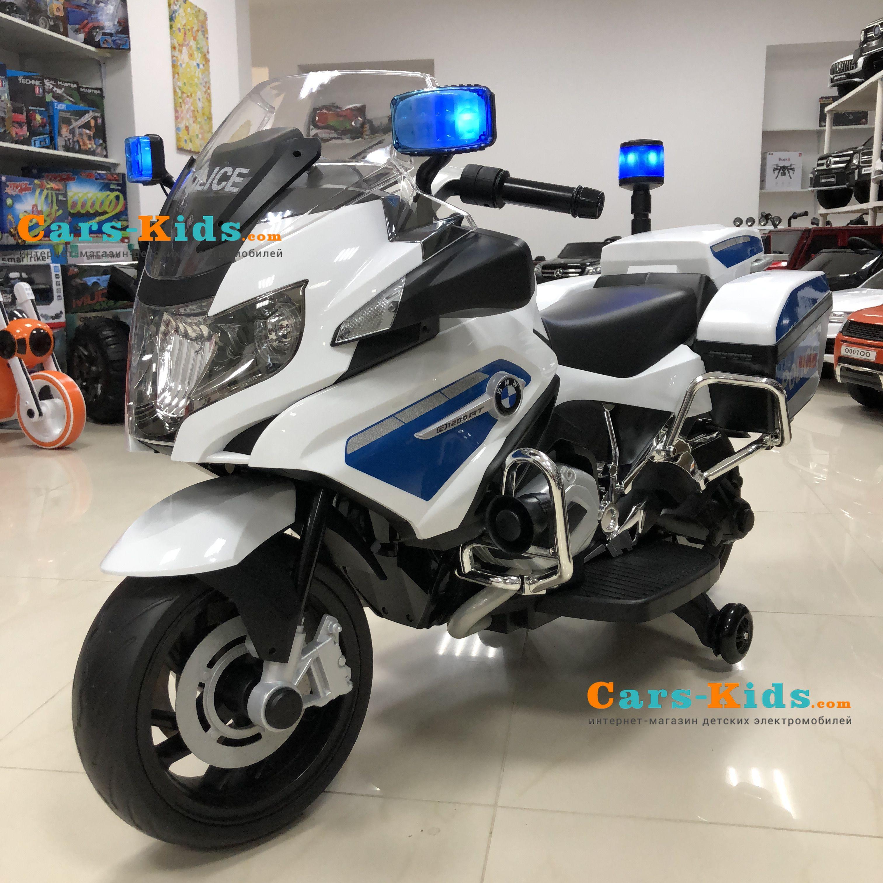 электромотоцикл Bmw R1200rt Police 12v 212 купить в альметьевске