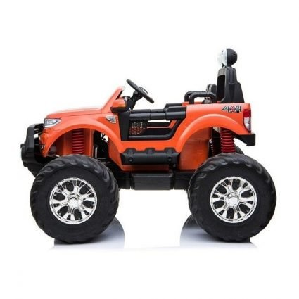 Электромобиль Ford Ranger MONSTER TRUCK 4WD DK-MT550 оранжевый (2х местный, колеса резина, кресло кожа, пульт, музыка)